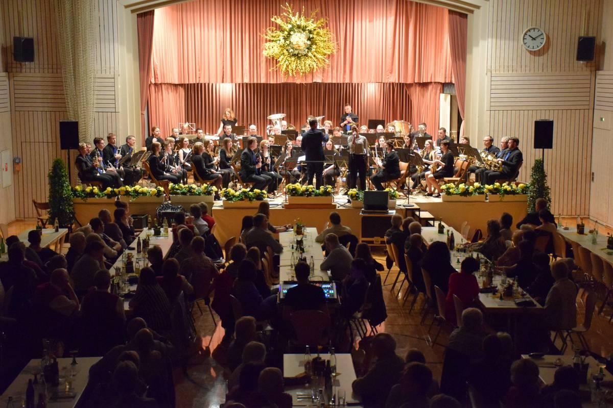 Doppelkonzert mit dem Musikverein Schwörstadt